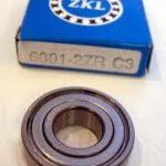Vòng bi ZKL 6001 - 2RS C3, vòng bi 6001 - 2RS C3, vòng bi ZKL