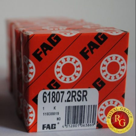 Vòng bi 61807.2RSR, Vong bi FAG 61807.2RSR, Vòng bi FAG