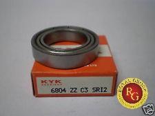 vòng bi 6804 zzc3, vòng bi KYK 6804 zzc3, vòng bi KYK