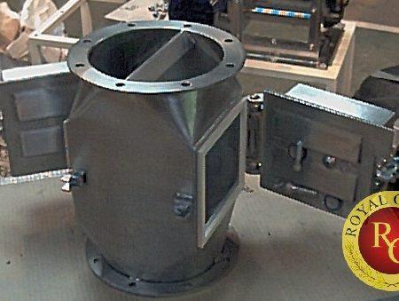 Bộ lọc trên đường ống dẫn nguyên liệu